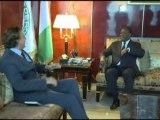 Audience accordée audience une délégation du MEDEF et le Représentant Spécial du Secrétaire Général des Nations-Unies pour la Côte d'Ivoire