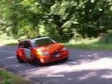 F.BOS - E.LAPERSONNE Clio Williams F2000 14 Rallye Auto Pièces 27 Kalt Bec 2012 ES2 4 6 pays roumois  caméra embarquée