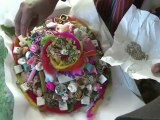 Bolivians make offerings to Mother Earth