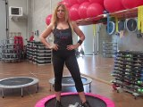 Monya fitness esercizio con elastico e trampolino elastico palestra ALBESE FITNESS CENTER