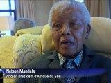 Images inédites de Nelson Mandela, 94 ans