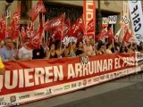 Funcionarios madrileños se concentran en Madrid