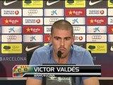 """Barcelone - Valdes: """"Il peut jouer à Barcelone"""""""