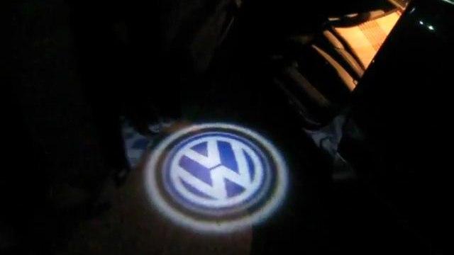 LED lumini portiere www.nice-gadgets.ro gadgets auto BMW Logo