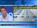 Les Médaillés Aviron s'entrainent au pole Nautique de Nancy - 03-08-2012