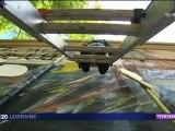 grapheur de façades - Ancienne école Normale Nancy - 31-07-2012 - Soir