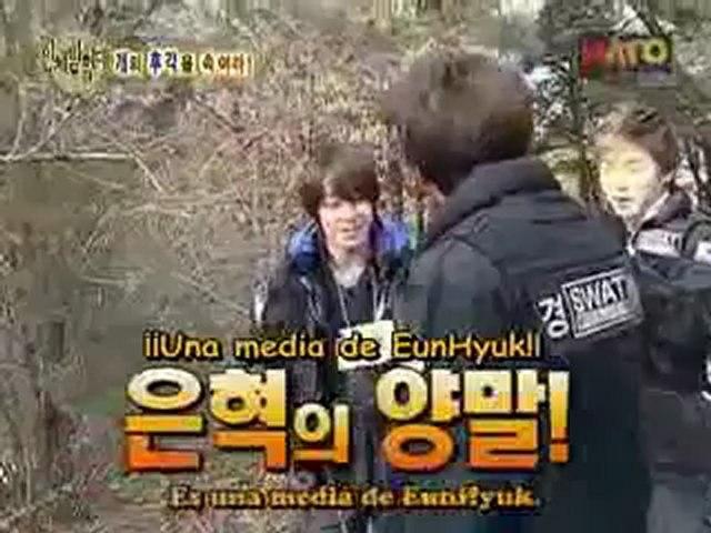 Explorando el cuerpo humano con Super Junior 13-4 sub esp