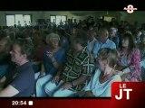 Présidence de l'UMP : J-F. Copé en campagne (Sallanches)