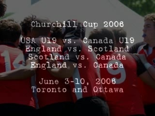 Churchill Cup 2006 Games