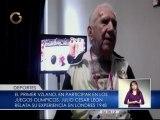 Primer atleta olímpico de Venezuela relata su experiencia