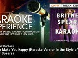 Charttraxx Karaoke - Born to Make You Happy - Karaoke Version In the Style of Britney Spears