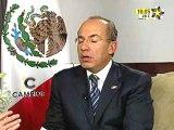 Entrevista a Felipe Calderon (primera parte)