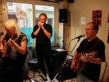 """concert de """"Roots again"""" au bar """"Le Saint-Jacques"""", à Cubjac (Dordogne)"""