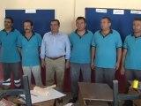 Başkan Batur Okullar için kolları sıvadı