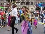 144. Gärtnertag München 2012 am 07.08.2012 auf dem Münchner Viktualienmarkt