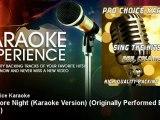Pro Choice Karaoke - One More Night (Karaoke Version) - Originally Performed By Phil Collins