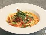 Cuisine : Recette de crevettes thaï(étape 2)