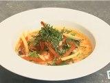 Cuisine: Recette de crevettes thaï (étape1)
