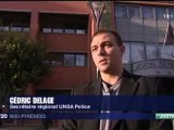 UNSA Police 29 Novembre 2011 affaire PLAINTES TARBES intervention Cédric DELAGE