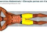 Abdominais inferiores, Elevação pernas