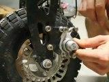 Trottinettes electriques / SXT / Tutoriel  technique changement des freins / trottinettes electriques