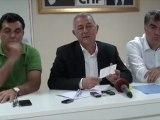 CHP İzmir Milletvekili Alaattin Yüksel Basın Açıklaması