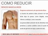 Como reducir senos masculinos