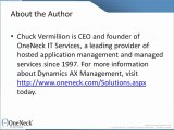 Dynamics AX Support:  Why Companies Use Applications Hosting Services