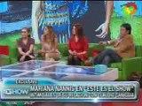 Como se conoció Mariana Nannis con Caniggia 1
