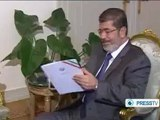 Egyptian President and Iranian Vice President meet in Cairo
