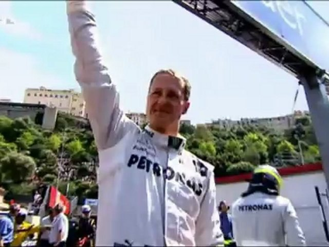 Michael Schumacher - 2012 (Part 1)