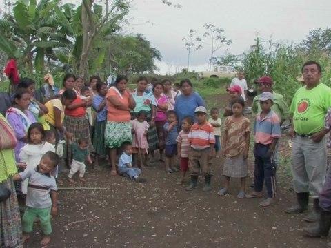 L'entreprise de pétrole Perenco au Guatemala et au Quai Branly