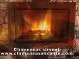 Estufas y Chimeneas modernas Sirvent en Alicante Alcoy, Cocentaina, Ontinyent, Onteniente, Bonalba, Jijona, Ibi, Petrer, Elche, Elda