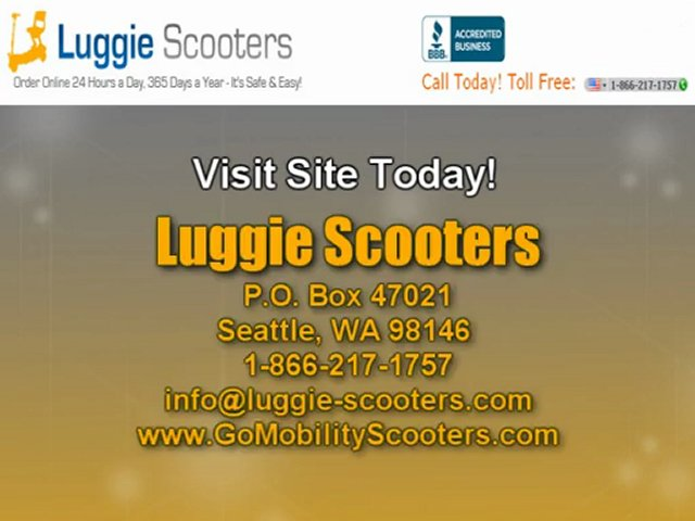 Luggie-Scooters – Lightest Scooter You Can Have!