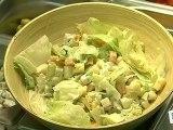 Cuisine : Salade composée au fromage
