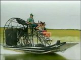 Airboat through the Everglades