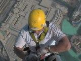 La vue du haut du Burj Khalifa