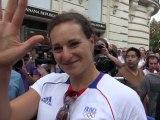 Mélina Robert-Michon : « Un très grand honneur »
