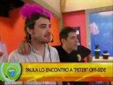 Paula Chaves sorprendió a Pedro Alfonso