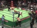 10. Akiyama & Saito (c) vs Magnus & Samoa Joe - (NOAH 07/22/12)