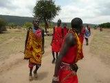 danse Masaï Kenya
