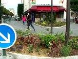 Vincennes nouveau carrefour à l'est Bd de la Libération, rue de fontenay, rue de France, rue du Commandant Mowat