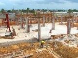 Avancées du chantier du nouvel hôpital universitaire d'Owendo - part 1
