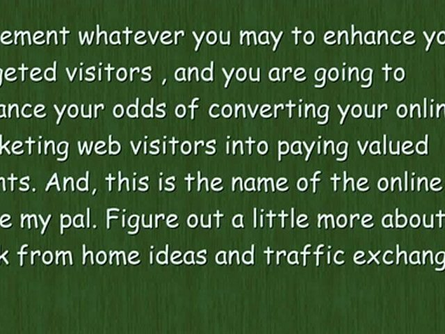 Traffic Exchange Systems for Targeted Visitors