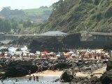 BEACH Playa de Palmera, Candás. Asturias 16 agosto 2012