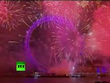 Big Ben Bang: Video of London 2011 New Year fireworks over Thames