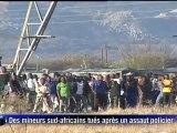 Des mineurs tués en Afrique du Sud après un assaut policier