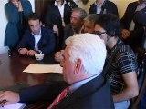 SICILIA TV (Favara) Minacce e proiettili al sindaco di Favara Rosario Manganella