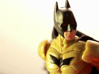 CGR Toys - BATMAN: THE DARK KNIGHT RISES Figure Review (yellow variant)