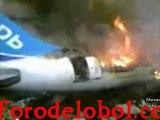 Impresionantes Accidentes de Aviones